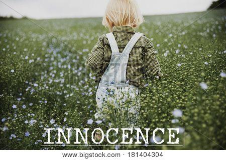 Innocence Adorable Playful Curious Pure Word