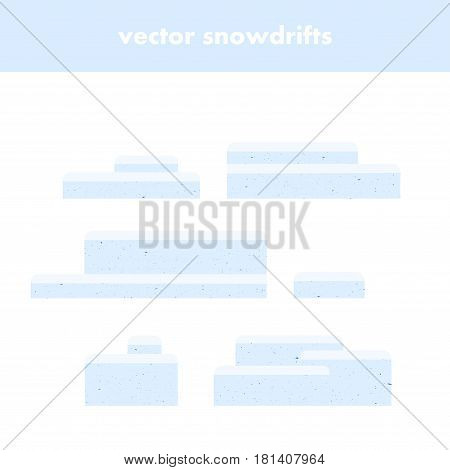 Collection Of Snowdrifts