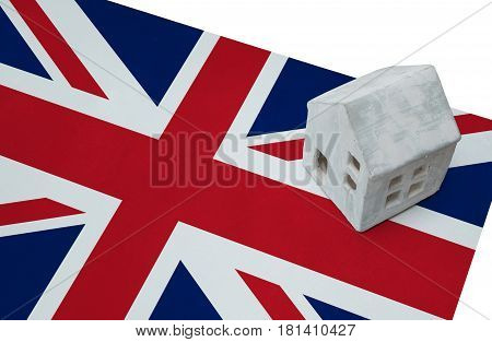 Small House On A Flag - Uk