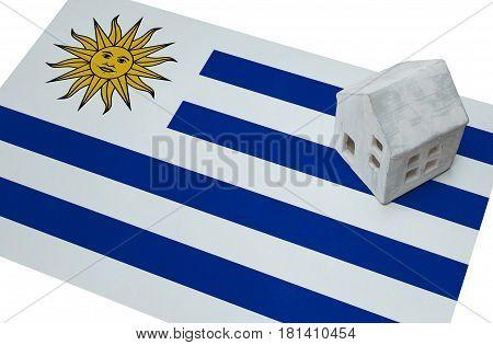 Small House On A Flag - Uruguay