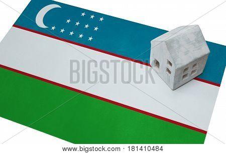 Small House On A Flag - Uzbekistan