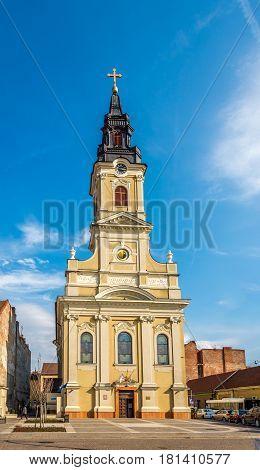 Church of Luna near place Unirii in Oradea Roamnia