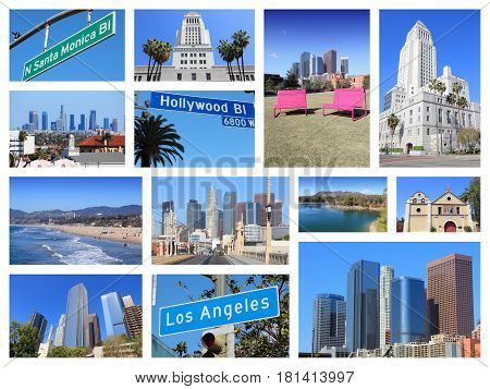 Los Angeles Collage