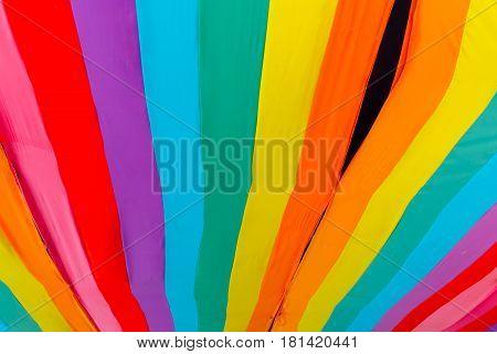 colorful textile colors vivid strip line cloth pattern texture.