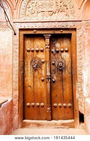 In Iran Old  Door