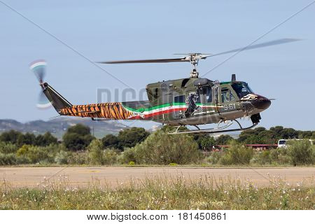 Italian Air Force Agusta Bell Ab-212 Helicopter