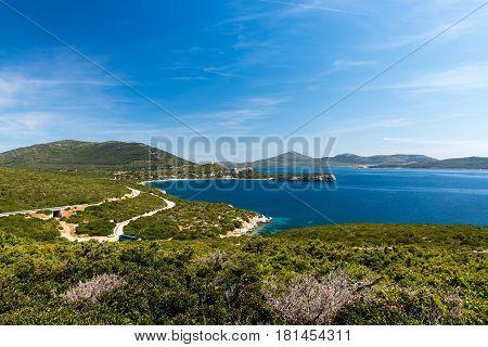 Capo Caccia, near Alghero on the Italian island Sardinia.