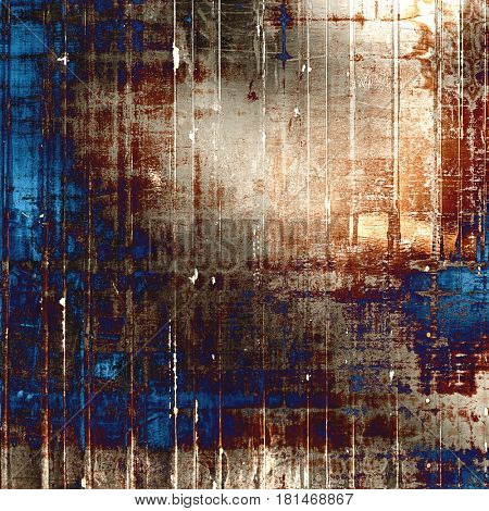 Designed grunge texture or background. With different color patterns: yellow (beige); brown; gray; blue; purple (violet)