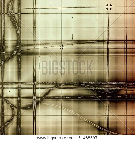 Colorful grunge background, tinted vintage style texture. With different color patterns: yellow (beige); brown; gray; black