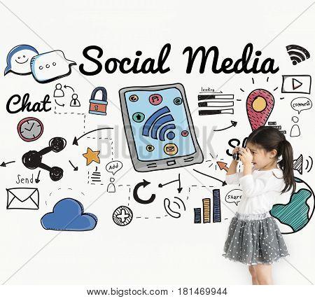 Social Media Children Chat