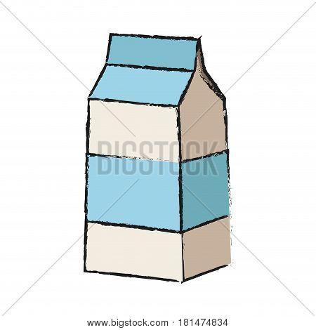 milk carton icon image vector illustration design
