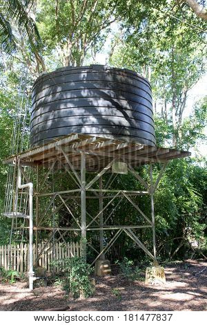 Water Tank Rural Australia