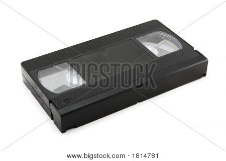 Video Tape (Isolated On White)