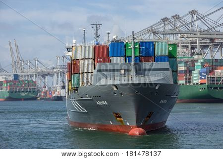 Container Port Shipping