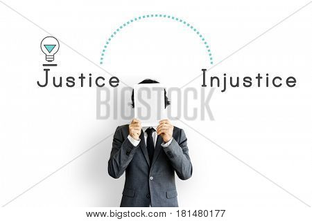 Antonym Opposite Justice Injustice Fairness Unfair