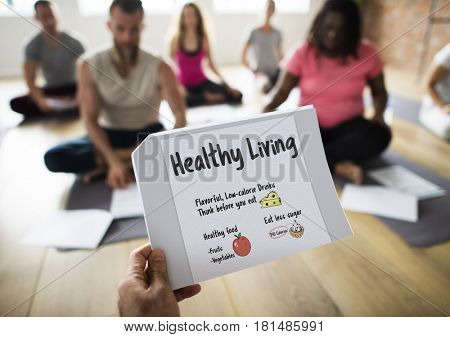 Wellness Diet Plan Healthy Living Icon