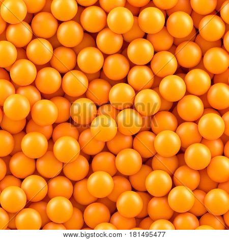 Orange balls background. Vector illustration Eps 10