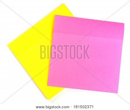Yellow And Pink Sheets To Record