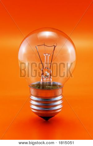 Bulb On Red