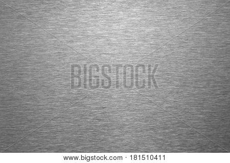 Brushed steel metal texture ,close up image .