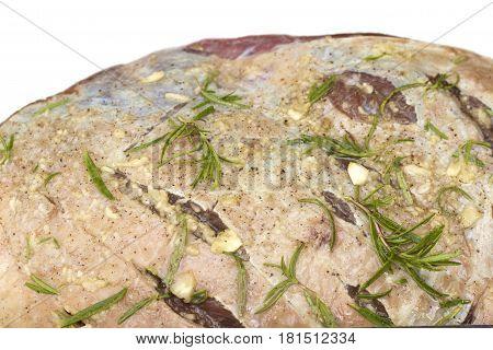 Beef Rump or Rump-roast close up image
