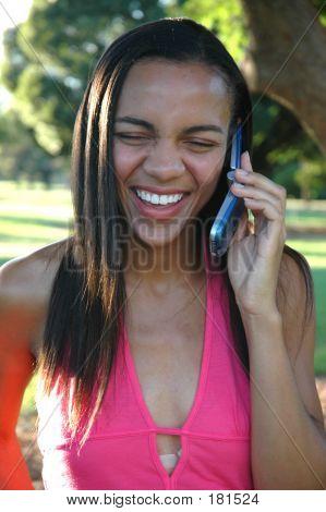 Big Smile Phone Call