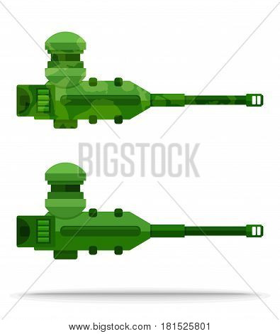 set 06 flat airship weapon outboard with rotate mechanism