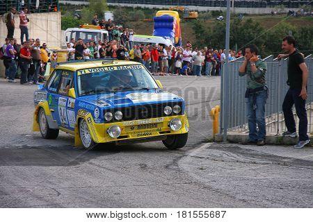 San Marino - 10 October 2009 - Seventh Rally Legend: A
