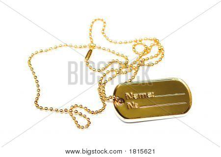 Golden Dogtag