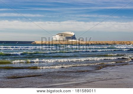 Cruise Terminal of Port of Leixoes in Matosinhos city Portugal