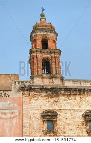 Church of SS. Cosma e Damiano. Conversano. Puglia. Italy.
