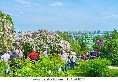 Botanic Garden In Kiev