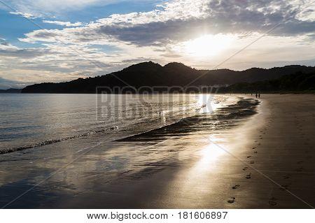 Dawn Over Playa Matapalo