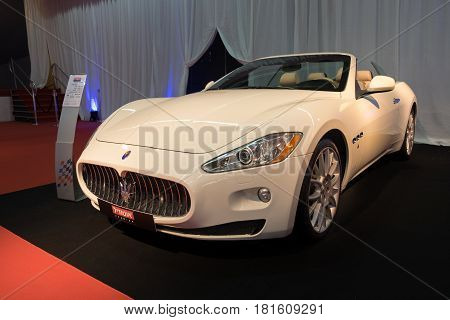 Maserati Grancabrio Displayed In Tel-aviv. Israel