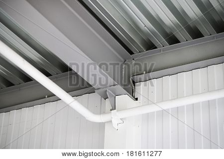 Heating From The Ceiling And Part Of The Design On The Ceiling