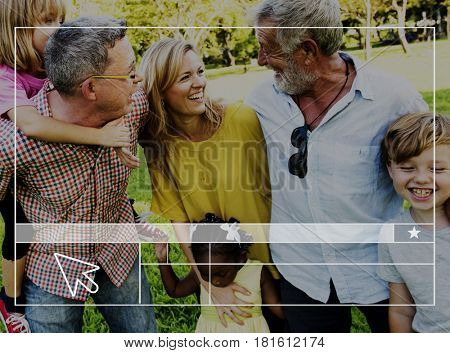 Family Website Layout Blank Banner