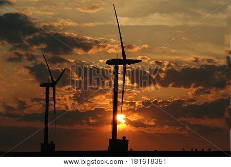 Windturbinepark Eemshaven