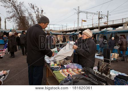 Flea Market In St. Petersburg