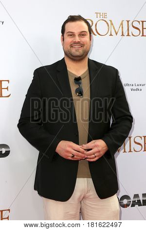 LOS ANGELES - APR 12:  Max Adler at the