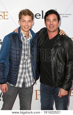 LOS ANGELES - APR 12:  Christopher Cain, Dean Cain at the