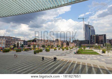 Liege City Belgium