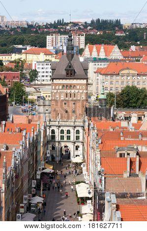 Gdansk City Poland