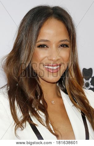 Dania Ramirez at the Los Angeles premiere of 'The Promise' held at the TCL Chinese Theatre in Hollywood, USA on April 12, 2017.