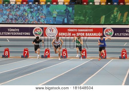 Indoor Olympic Record Attempt Races
