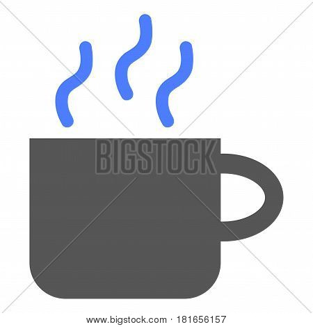 Hot Drink Cup vector pictograph. a flat illustration iconic design.