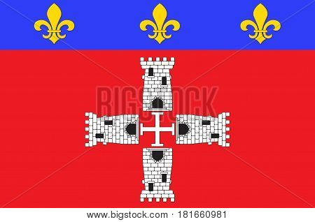 Flag of Marmande is a commune in the Lot-et-Garonne departement in south-western France.
