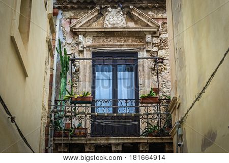 Town house on the old part of Syracuse - Ortygia isle Sicily Italy