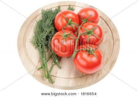 Dill And Tomatoes