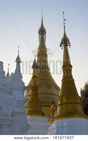Shwedagon Pagoda the most sacred Buddhist pagoda in Myanmar is a 99 metre tall gilded stupa located in Yangon Myanmar