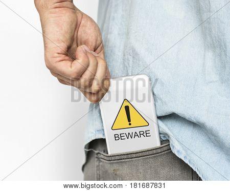 Beware Alert Attention Caution Risk Warning